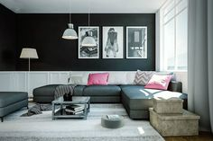 Bring life into your space adding vibrancy and energy that especially comes with dark colours. Read our blog for tips on how to incorporate dark and dramatic hues into your decor.  Blog Link - http://www.gulmoharlane.com/blog/go-dark-and-dramatic-tips-to-decorate-your-home-with-dark-wall-colours