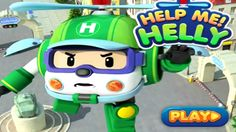 Robocar Helly | car games | kids cartoon | videos for children