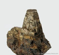 Pyrrhotite with Magnetite and Siderite, Chiuzbaia, Baia Mare, Maramures Co., Romania, small-cabinet, 7.5 x 7.5 x 4.0 cm, SUPERB and classic, this Pyrrhotite is from an old locale in Romania., For sale from The Arkenstone, www.iRocks.com. For more details on this piece and others, visit https://www.irocks.com/minerals/specimen/46791