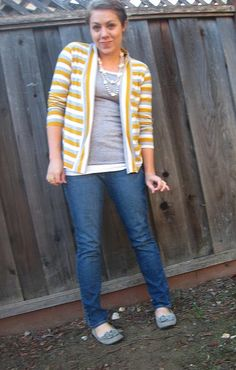 DIY Cardigan - cute!