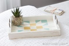Home Decor Project DIY Wooden tray