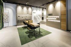 Optometry Office, Eyewear Shop, Optical Shop, Retail Merchandising, Furniture Factory, Stand Design, Retail Design, Interior Design, Hoffmann