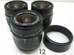 5L202FB SIGMA 28-80mm F3.5-5.6 レンズまとめて3本ジャンク_画像1
