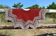 Wool Christmas Tree Skirt Fair Isle Rustic Repurposed Knit Sweater Brown Rust Red Kaliedescope Chevron Patchwork Handmade OOAK Up Cycled