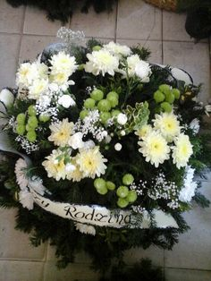 wieniec pogrzebowy