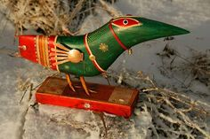 Dmitrail Stern Paper Mache, Bird Feeders, Diys, Sculpture, Ceramics, Christmas Ornaments, Holiday Decor, Outdoor Decor, Home Decor
