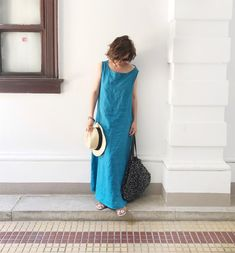 Sommerleinenkleid - Emse von Lotta Jansdotter , DIY mamimade Merchant And Mills, What Is Seo, Need Money, Summer Dresses, Formal, How To Wear, Clothes, Diy, Fashion