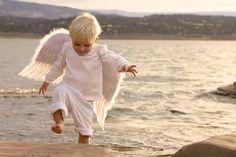 Aww, little angel <3