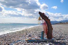 Lampade artistiche artigianali by Rocca di Lumèra - #handmadeinsicily #see #driftwood