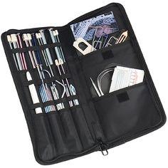 Love my ArtBin knitting/crochet needle storage case