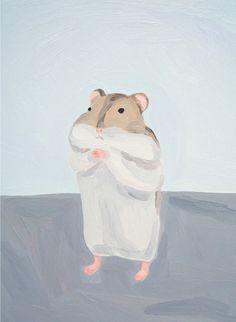 chilly, 2009 ムラタ有子|Yuko MURATA oil on canvas 33.3 x 24.2 cm