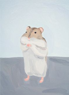 chilly, 2009 ムラタ有子|Yuko MURATA oil on canvas 33.3 x 24.2 cm