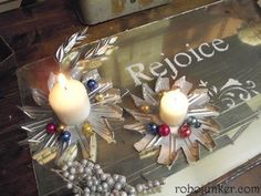 DIY Craft Projects for Christmas - Trash to Treasure