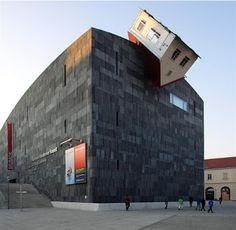 Vienna, austria, austrian sculptor and architect Erwin Wurm