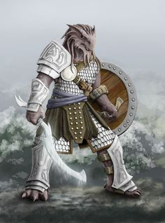 Dragonborn Fighter | 2009: Ravex by carakav: