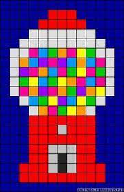 Image result for perler bead gum machine