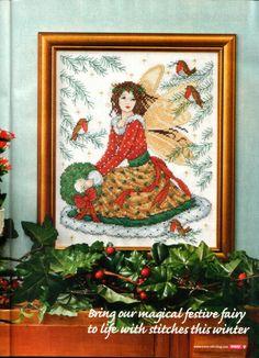 Joan Elliott Christmas fairy picture Gallery.ru / Фото #1 - 108 - serebro-85