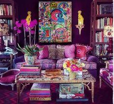 Cozy Bohemian Living Room Decor - Bohemian Home Living Room Retro Home Decor, Cheap Home Decor, 1950s Decor, Living Room Designs, Living Room Decor, Living Rooms, Bohemian Living, Bohemian Decor, Bohemian Room
