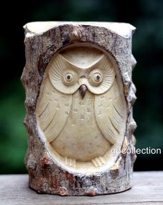 Details about Unique Gift Hand Carved Wooden Owl Statue Figurine Sculpture Wood Home Decor Art Unique Gift Hand Carved Wooden Owl From Crocodile Wood Home Decor Statue Dremel Wood Carving, Wood Carving Art, Wood Art, Wood Carvings, Wood Projects For Beginners, Diy Wood Projects, Wood Crafts, Wooden Owl, Wooden Animals