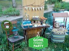 Want to catch some awesome ideas for your next boy birthday bash? We've got a boatload of ideas in this Boy's Fishing Party Round-Up! 60th Birthday Party, Birthday Ideas, Party Themes For Boys, Heart Party, Party Pictures, Childrens Party, Party Planning, Blog, Party Ideas