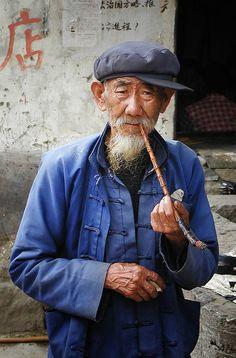 Blue Smoke Yunnan, China