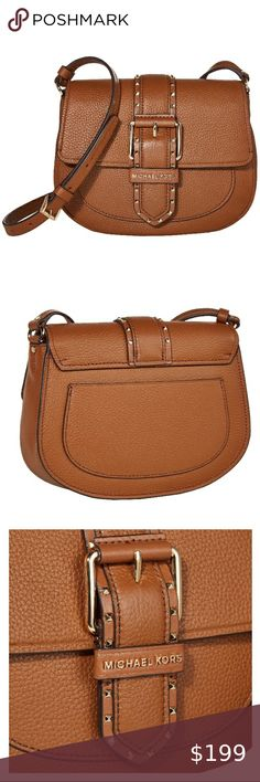 Coach Smooth Turnlock Crossbody Across Body Bag Women