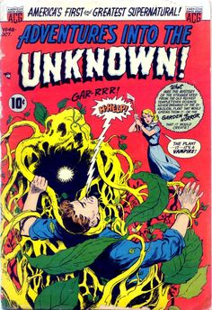Comic Book Cover For Adventures into the Unknown #48