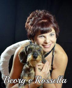 """Il nostro Amico Beorg con la sua """"umana"""" Rossella...#MyDogAndMe"""