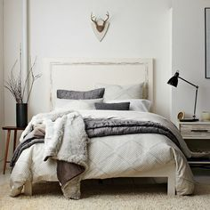 Luxury of the Day 10-8-12 // Faux Fur throws from West Elm. It may be fake fur, but these throws add an instant touch of luxury to any room or piece of furniture. Or, if you're like me, just wrap it around your shoulders and pretend you're in Game of Thrones. Winter is coming.