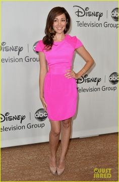 Scott Speedman & Autumn Reeser: TCA Press Tour! Autumn is wearing a Karma El Khalil T Cuff.