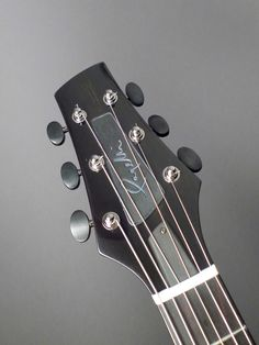 2015 Pagelli Guitars The Massari -  Archtop Guitar - Ebony Headplate Builder Decal Inlay