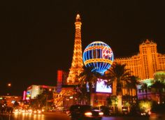 Las Vegas, where we got married- almost 15 years ago. Vegas is always fun! Las Vegas Hotels, Las Vegas Trip, Paris Hotels, Vegas Fun, Vacation Places, Dream Vacations, Places To Travel, Travel Destinations, Winter Destinations