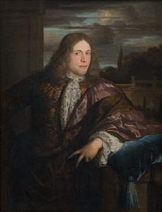 Carel de II Moor   Dutch,  Portrait of a Young Gentleman, 1671-1738 TECHNIQUE Oil on canvas REFERENCE KMS4320