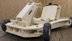The Flatworks LLC is raising funds for PlyFly Go-Kart: A 25 MPH Wooden Roadster on Kickstarter! A complete gas powered wooden go-kart that is as much fun to build as it is to drive. Arrives in 3 boxes and assembles in 1 day.