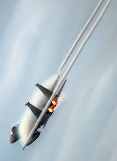 F-15 in full blowers