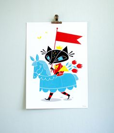 Brand new poster available in my shop! www.happymeat.bigcartel.com/product/knight-in-shining-arm...