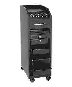 The Opal Portable Styling Station by Buy-Rite Beauty is exceptionally versatile as it can be used as either a portable styling station or a storage utility cart. This portable station is made of wood and has wheels making it very easy to move around th Make Up Storage, Locker Storage, Closet Vanity, Styling Stations, Vanity Area, Utility Cart, Home Salon, Beauty Room, Bathroom Organization