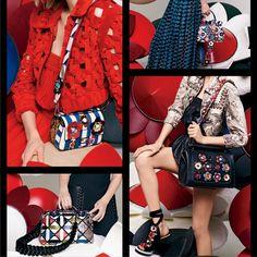 Los #Colores, las #Franjas y las #Flores están de #Moda. Mira lo último por cortesía de @Fendi / #ABCherrajes #Bolsos #Carteras #Marroquinería  Visítanos en: www.abcherrajes.com