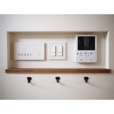 like the framing of the controls Japanese Interior, Japanese House, Interior Lighting, Home Interior Design, Home And Living, Ideal Home, Living Spaces, Sweet Home, New Homes