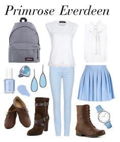 """""""Prim"""" by movieinspiredoutfitters ❤ liked on Polyvore featuring Victoria Beckham, Alice + Olivia, Paige Denim, Dolce&Gabbana, Madden Girl, Pour La Victoire, Eastpak, Susan Hanover, Arunashi and Timex"""