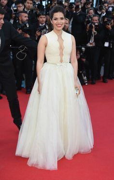 Fabulously Spotted: America Ferrera Wearing Georges Hobeika Couture - 'How To Train Your Dragon 2' Cannes Film Festival Premiere - http://www.becauseiamfabulous.com/2014/05/america-ferrera-wearing-georges-hobeika-couture-how-to-train-your-dragon-2-cannes-film-festival-premiere/
