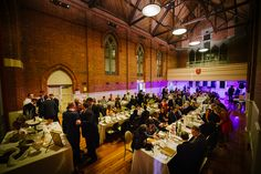 Snap shot of Eastern Hill mid event.  Wedding venues Melbourne.
