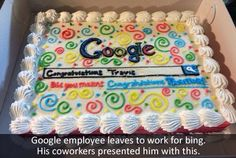 Why would you even leave a job like google, it's like one of my dream jobs