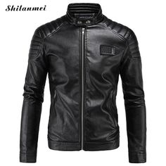 winter jacket men bomber coat pu leather plus clothing windbreaker veste homme erkek mont chaqueta hombre jaqueta abrigo hombre * AliExpress Affiliate's buyable pin. Find out more on www.aliexpress.com by clicking the image #Mensleatherjackets