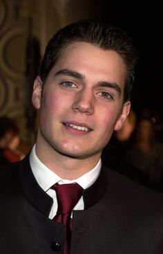 Young Henry Cavill at boarding school