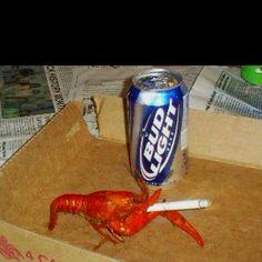Crawfish's dying wish!