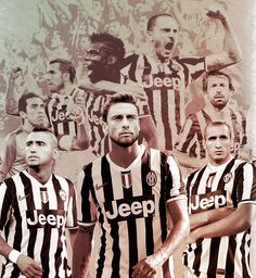 Gigi Buffon, Carlitos Tevez, Paul Pogba, Leo Bonucci, Andrea Pirlo, Arturo Vidal, Claudio Marchisio, Giorgio Chiellini - JUVENTUS