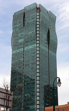 Haitong Securities Building (Cyber Tower), Shanghai, China;  36 stories;  designed by Leo A. Daly