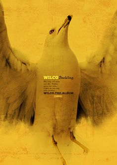 Poster  - Wilco - One Wing by @cesarvalenca, via Flickr