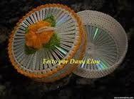 Resultado de imagen para porta pano de prato de croche de cd